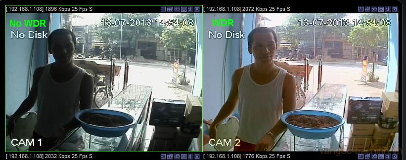 Camera chống ngược sáng