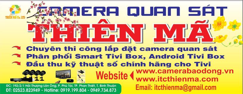 Lắp đặt camera Phan Thiết Bình Thuận