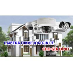 Top 5 Camera Hikvision giá rẻ phù hợp để lắp cho gia đình