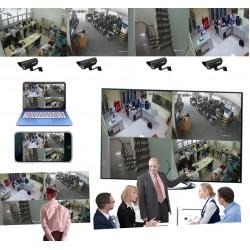 Giải pháp lắp đặt camera dành cho văn phòng công ty