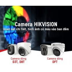 Camera ColorVU HIKVISION - Camera thách thức bóng đêm