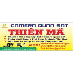 Camera Thiên Mã thi công lắp đặt camera quan sát cho gia đình tại Bình Thuận