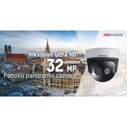 Hikvision ra mắt camera full HD 32 MP PanoVu