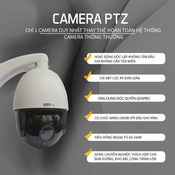CAMERA IP PTZ GDX pro3