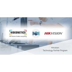 Hikvision công bố tích hợp công nghệ với Videonetics