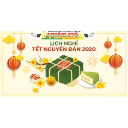 Thông báo lịch nghĩ tết nguyên đán 2020
