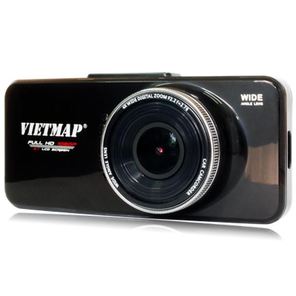 Camera hành trình Vietmap C5 ghi hình Full HD 1080P, chống ngược sáng, Micro SD, GPS