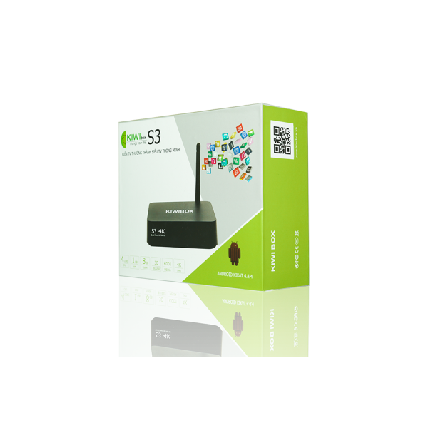 Smart Andrioid TV Box Kiwibox S3